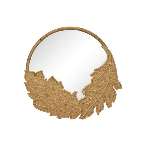 Acanthus Mirror - Natural