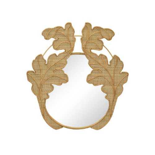 Hyacinth Mirror - Natural