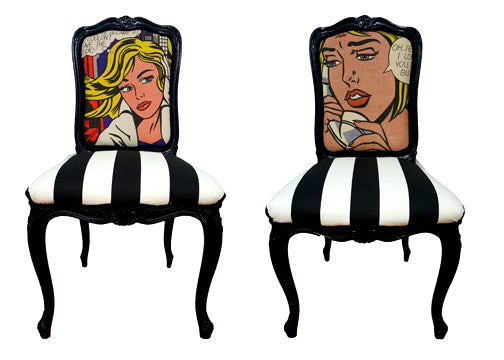 Pop Art Chair - Set of 2