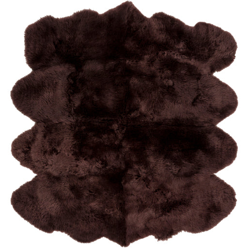 Sheepskin Rug - Brown