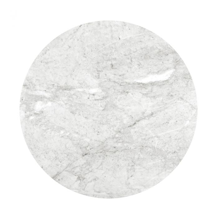 "60"" Stockholm Marble Table Top - White"