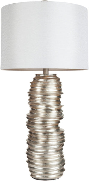 Surya lmp-1030 silver table lamp