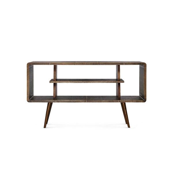 Verra Console - Antique Brass