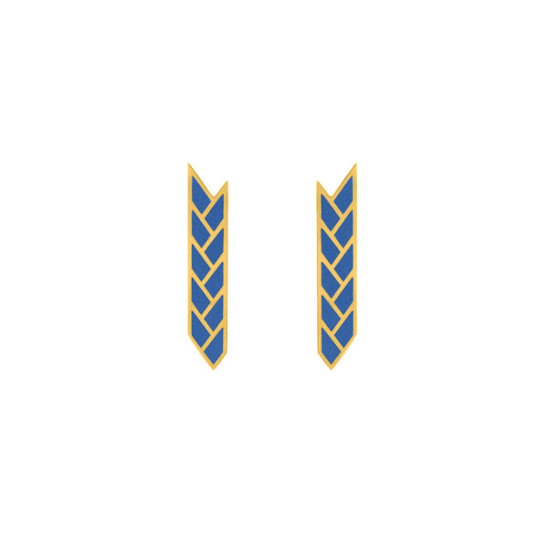Osiris Stix 18K Gold in Lapis