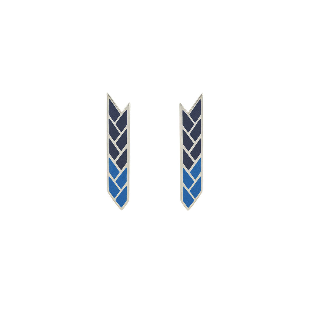 Osiris Stix Sterling Silver Egyptian Blue & Lapis