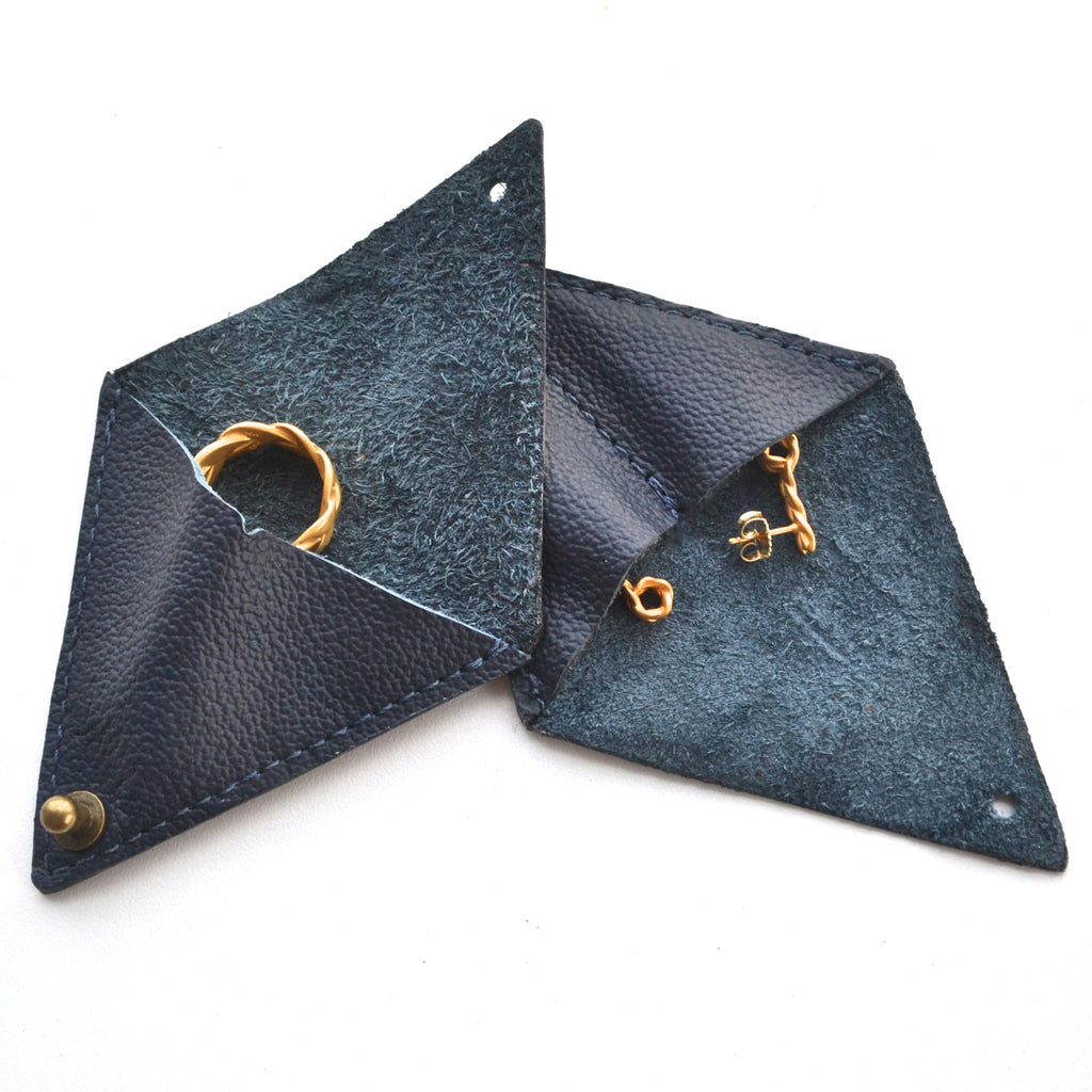 Baltera Leather Jewelry Pouches