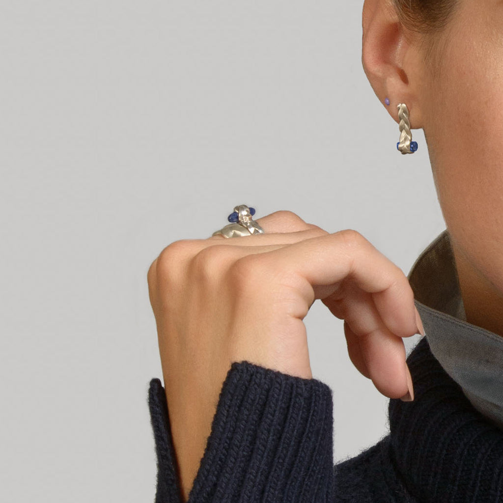 Drop Plait Ring Detail
