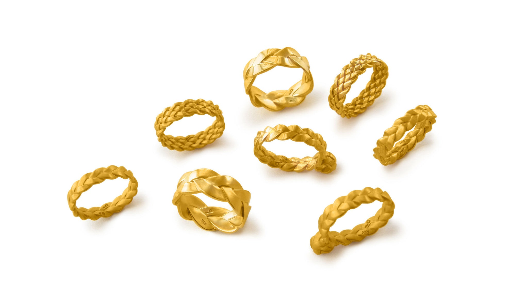 baltera jewelry nyc classic plait rings