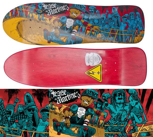 "Jesse Martinez ""Venice"" Skateboard Model"
