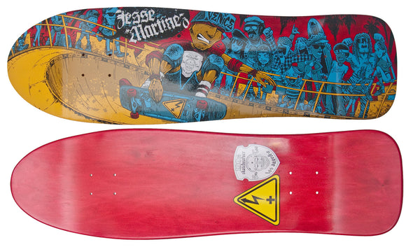 "The Jesse Martinez ""Venice"" Model from 100% Skateboarder Sk8 Club and Positive Charge Skateboards"