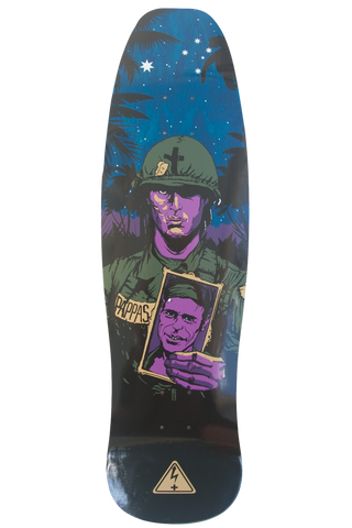Tas Pappas Barnes and Elias model Positive Charge Skateboards