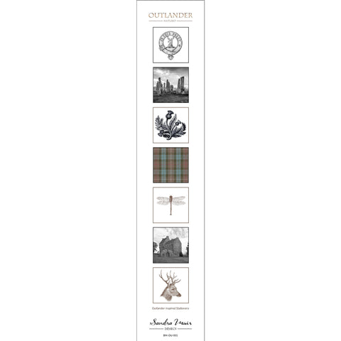 Outlander-inspired Bookmark: Theme Set