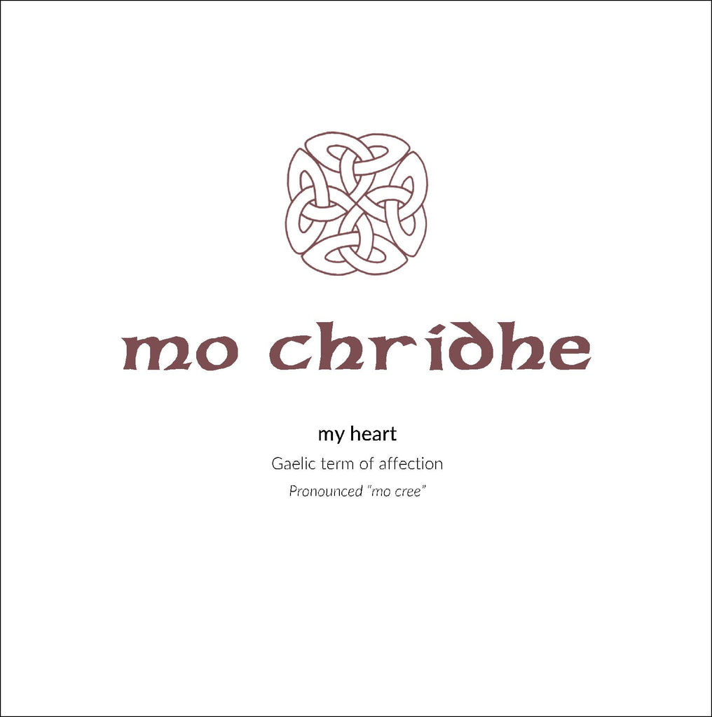 Gaelic Phrases Greeting Card - mo chridhe