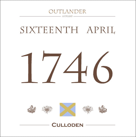 Culloden - Outlander-inspired Film Location Greeting Card