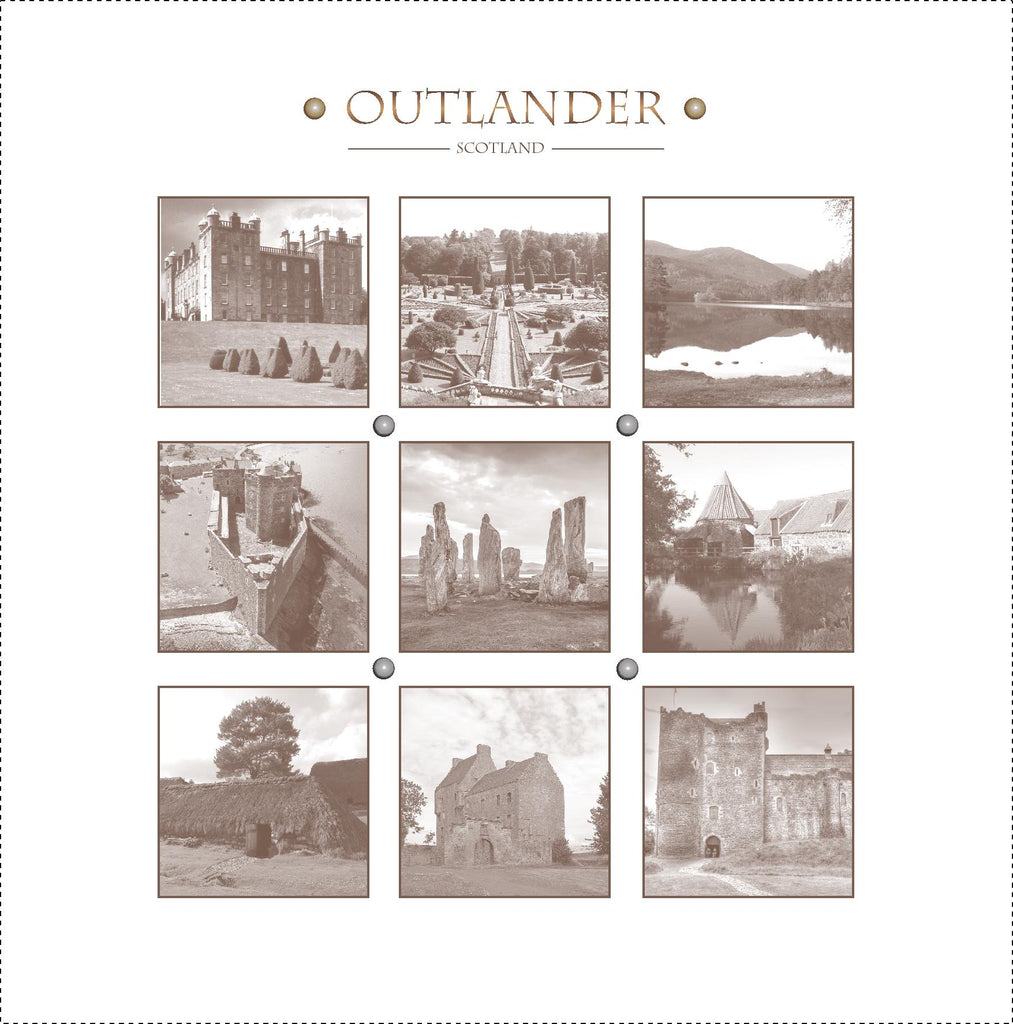 Greeting Card of Outlander Film Locations - Various