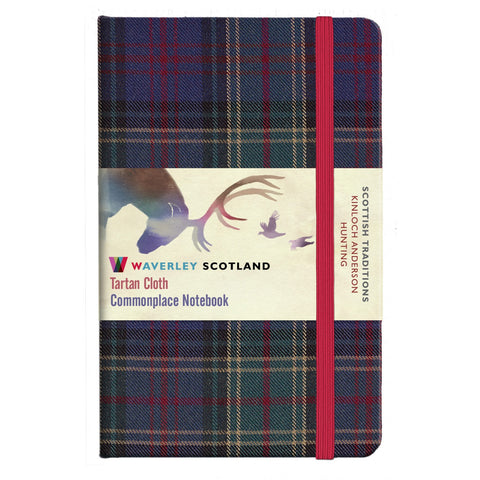 Tartan Cloth Notebook - Hunting