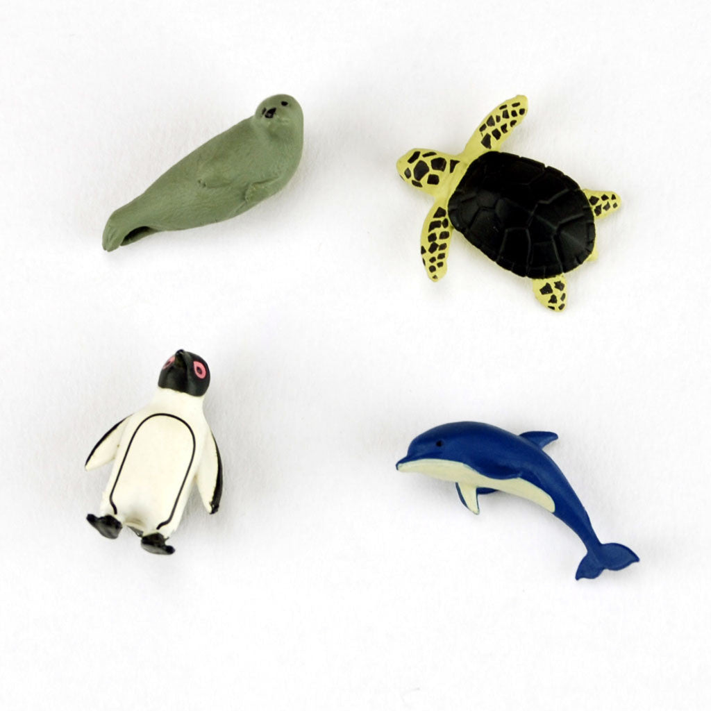 Mini magnet aquarium set by Midori from Japan