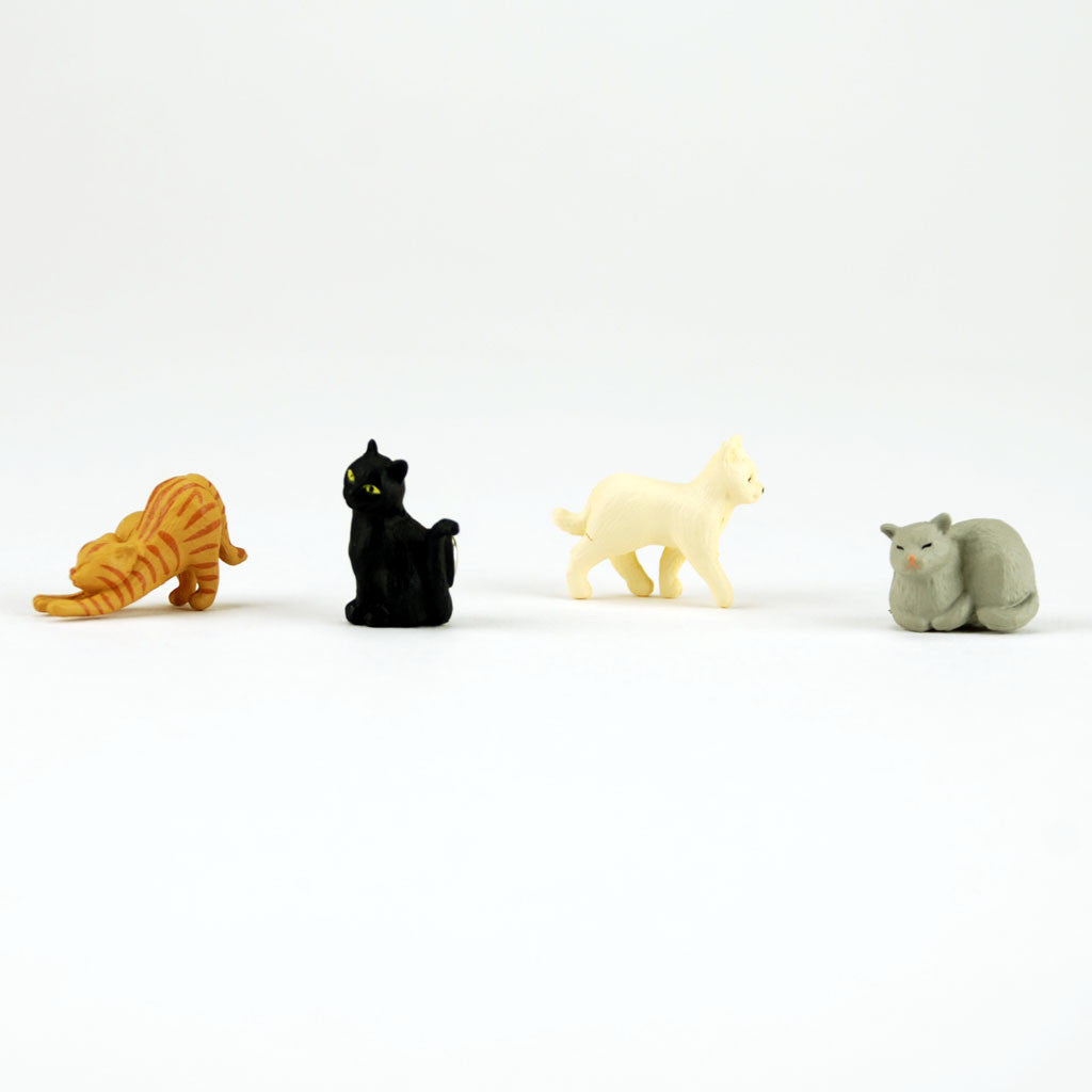 Mini magnet cat set by Midori from Japan