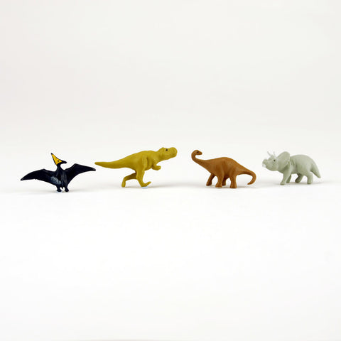 Mini magnet dinosaur set by Midori from Japan