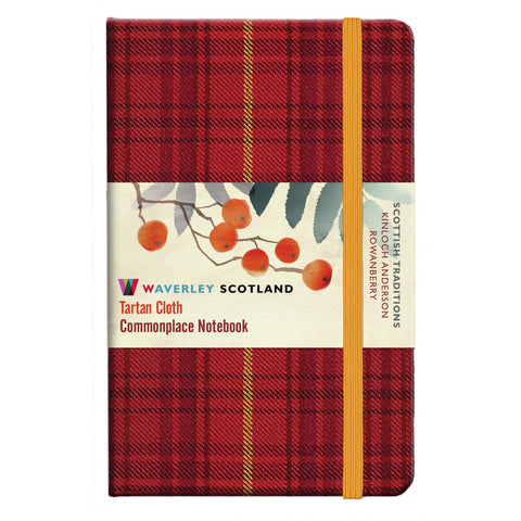 Tartan Cloth Notebook - Rowanberry