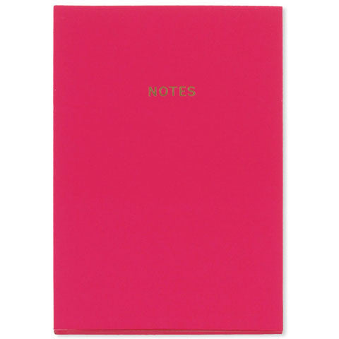 Rich Pink Soft-Touch A5 Notebook