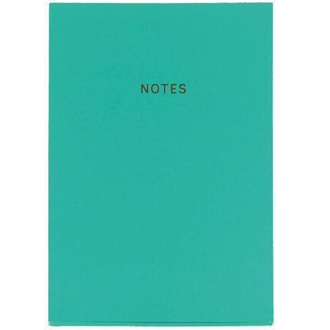 Rich Teal Soft-Touch A5 Notebook