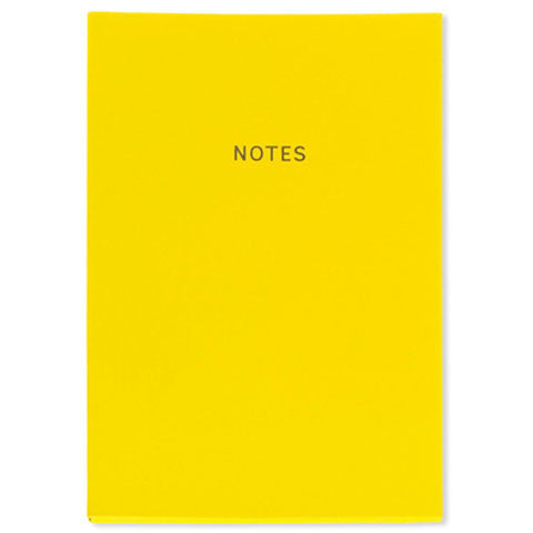 Intense Yellow A5 Notebook