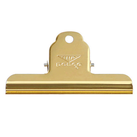Clampy clip medium by Penco in gold - practical retro and beautiful