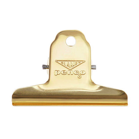 Clampy clip by Penco in gold - practical retro and beautiful