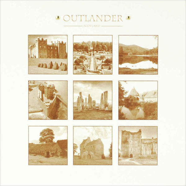 Outlander box set film location greeting card Various Locations