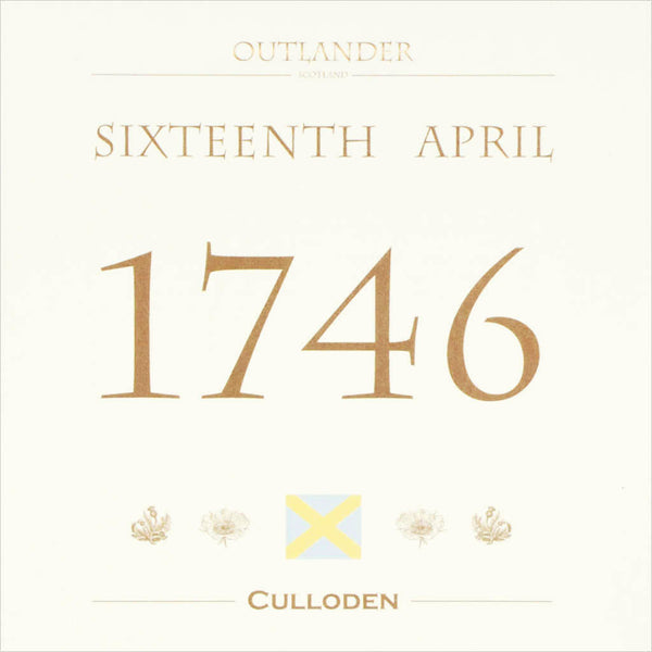 Outlander box set film location greeting card Culloden