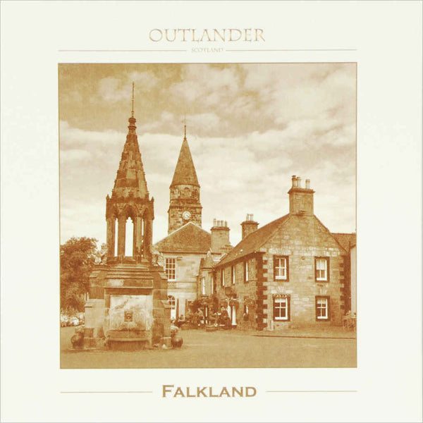 Outlander box set film location greeting card Falkland