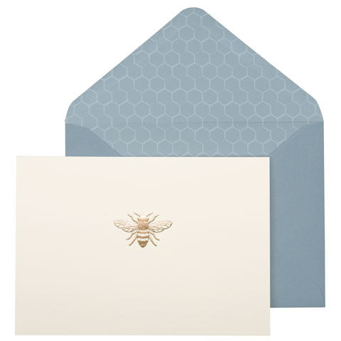 Set of Ten Bee Notecards