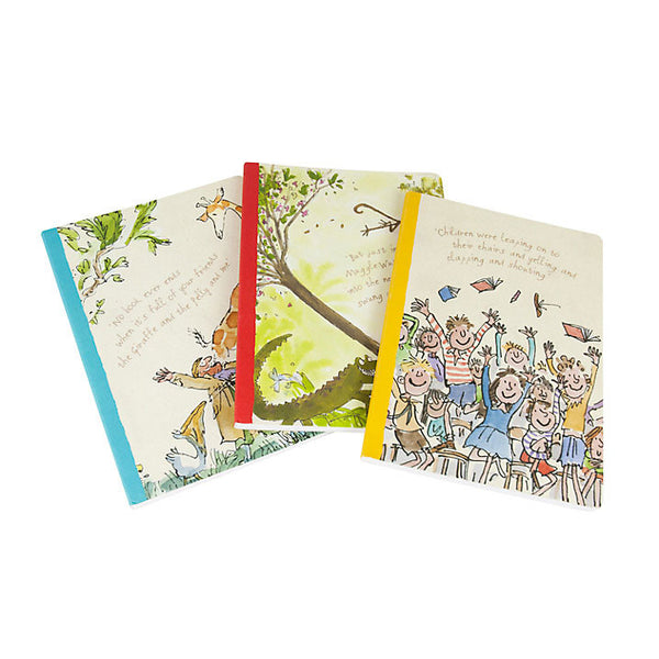 Roald Dahl Exercise Books