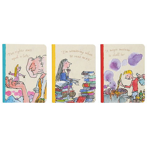 Roald Dahl Mini Notebooks