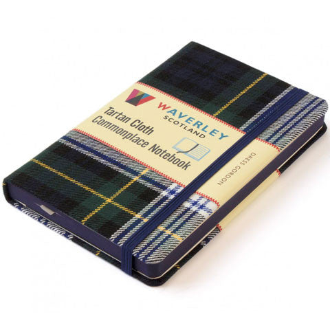 Tartan Cloth Notebook, Dress Gordon