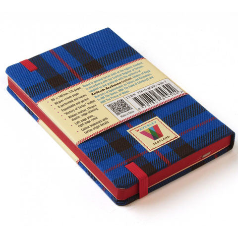 Tartan Cloth Notebook, Elliot