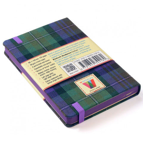 Tartan Cloth Notebook, Isle of Skye