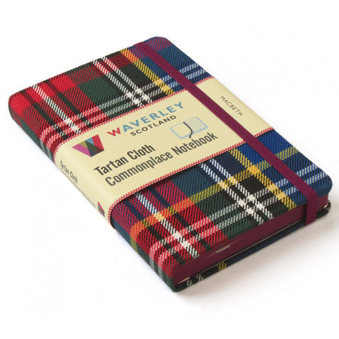 Tartan Cloth Notebook, MacBeth