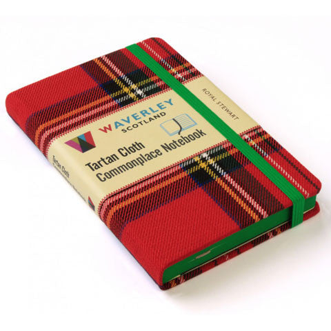 Tartan Cloth Notebook, Royal Stewart