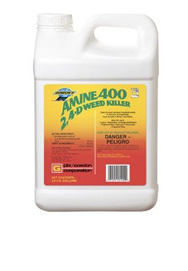 PBI The Dirty Gardener Amine 400 2,4-D Weed Killer, 2.5 Gallons