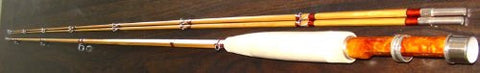 Sonatore Split Cane Bamboo Fly Rod 3wt- 2 Piece- Excellent Craftmanship.