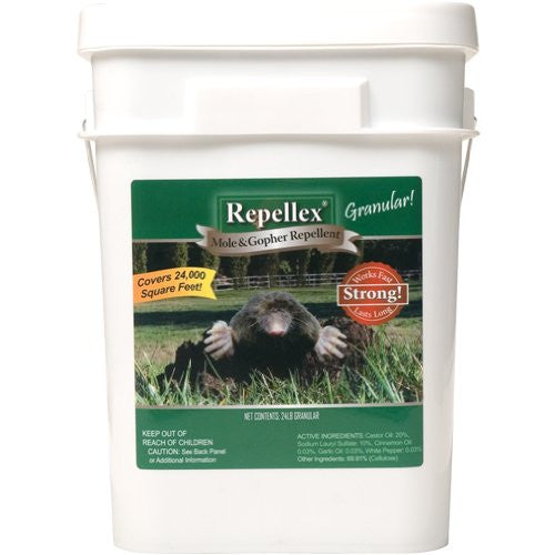 Repellex Mole/Vole/Gopher Repellent, 24 Pounds
