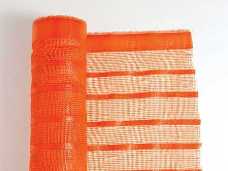 Woven Orange Safety Fence 4'x100' Feet.