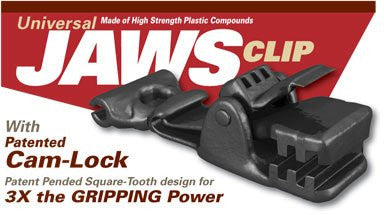 Universal Jaws Clip-heavy Duty Locking Tarp Clamp 24 Pack.