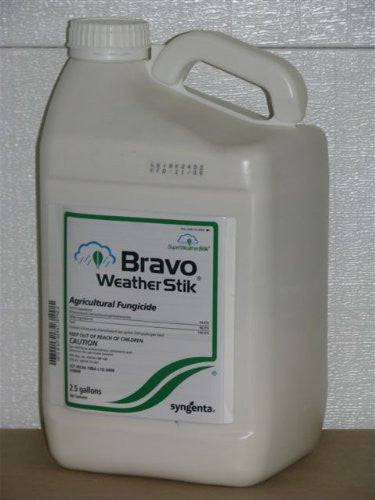Syngenta Bravo Weather Stik Agricultural Fungicide, 2.5 Gallons