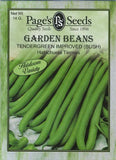 The Dirty Gardener Tendergreen Improved Bush Beans