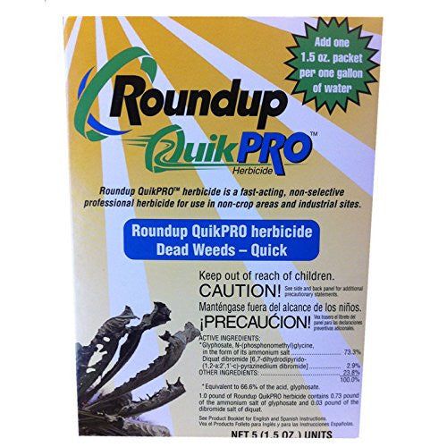 Roundup 1.5 Ounce QuickPro Packets, 5 Count