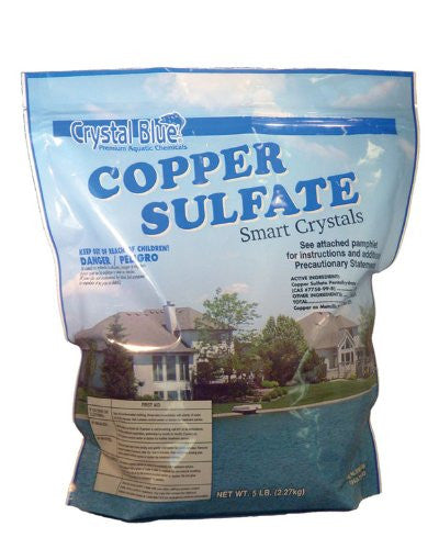 Copper Sulfate Granular Copper Sulfate/algaecide 5# for Ponds, Fountains, Lakes