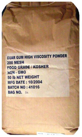 The Dirty Gardener 50 Pounds Guar Gum Powder
